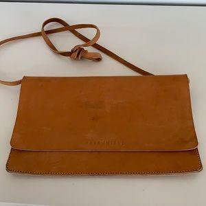 Gently used handmade clutch by Half United